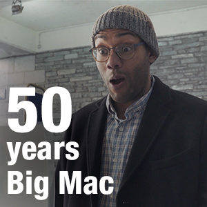 50 years Big Mac