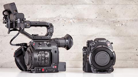 A couple of Canon C200 Cameras