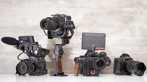 Camera Equipment Canon C200 Red Epic Helium Gimbal