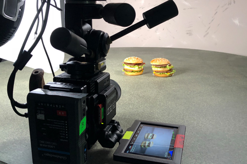 McDonald's BigMac Filming with Westpoint Switzerland